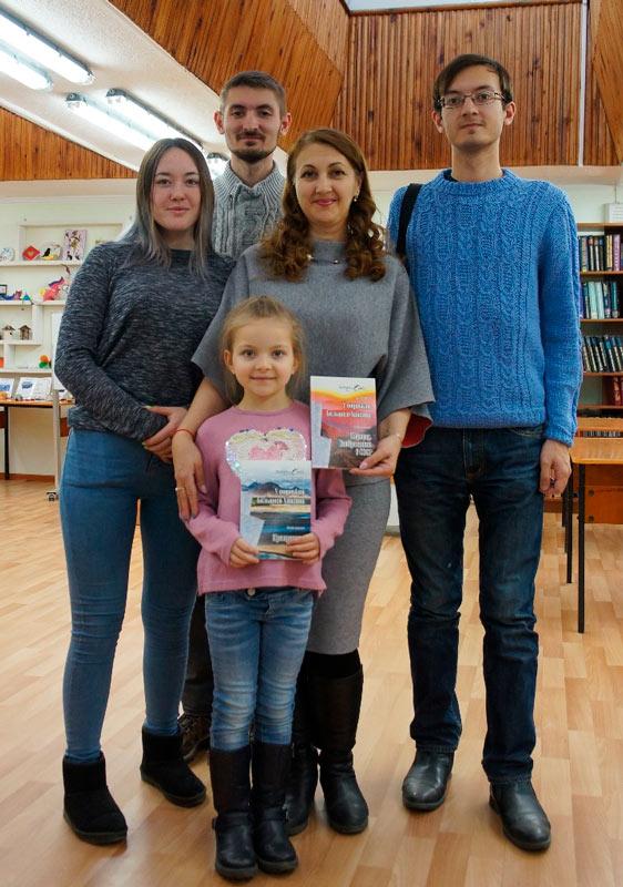 Семья Лизы Калининой