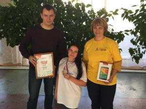 Новак Соня заняла 2 место в Абилимпикс