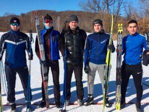 3 место лыжи СПО