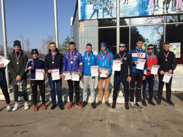 3 место по лыжным гонкам