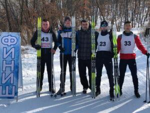 3 место лыжи
