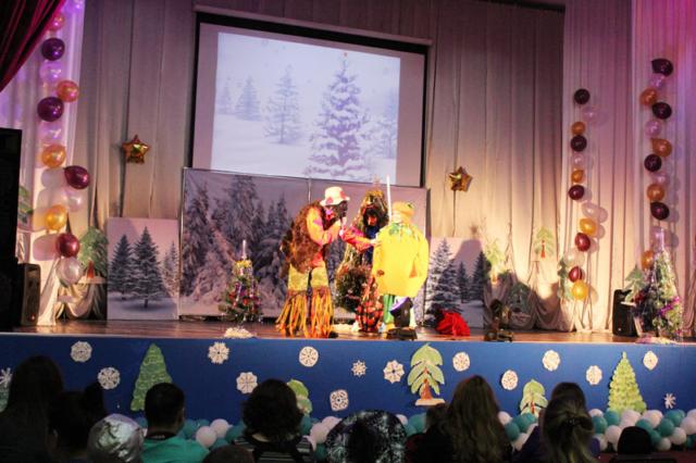 Новый год для детей сотрудников БПК