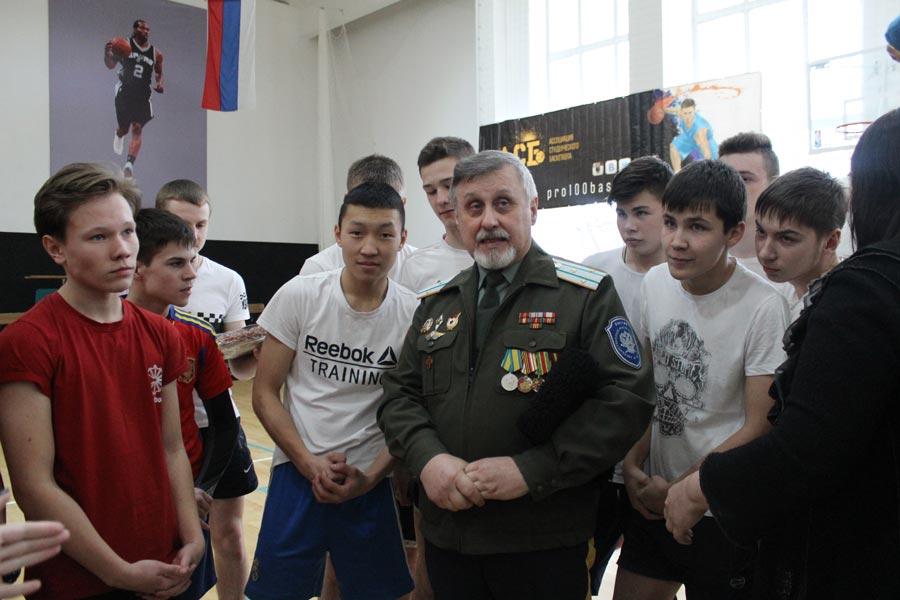 Военно-спортивная игра «Новобранцы»