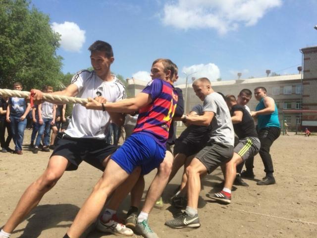 Спортивное мероприятие ко Дню России