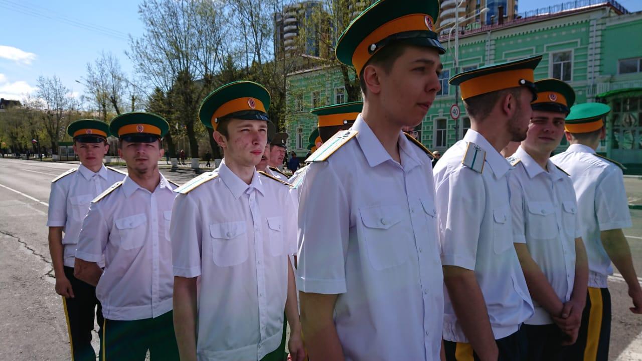 Студенты БПК приняли участие в праздновании Дня Победы