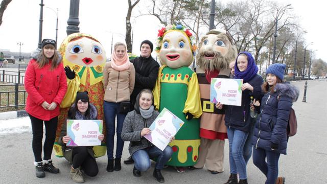 Студенты БПК принимают участие в акции