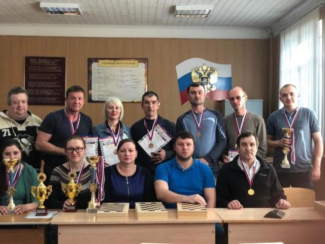 3 место в Спартакиаде по шахматам
