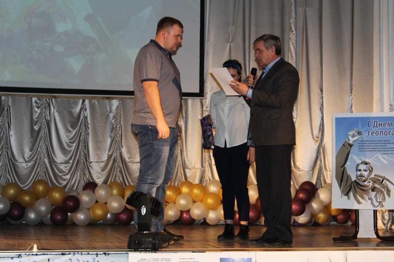 Награждение Фроликова Олега