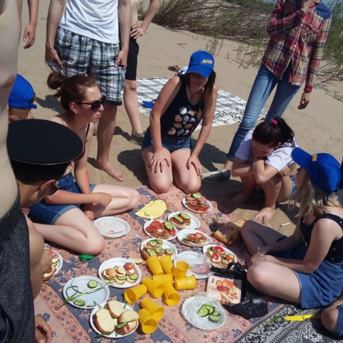 Пикник на Зее