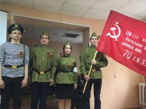 День Победы в доме Ветеран