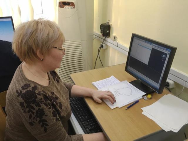 Ольга Борисовна на курсах