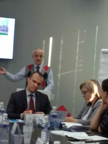 """Сотрудники БПК посетили круглый стол в """"Точке кипения"""""""