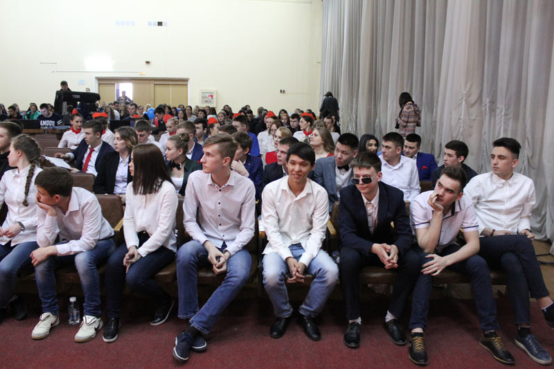 Команда БПК перед началом игры