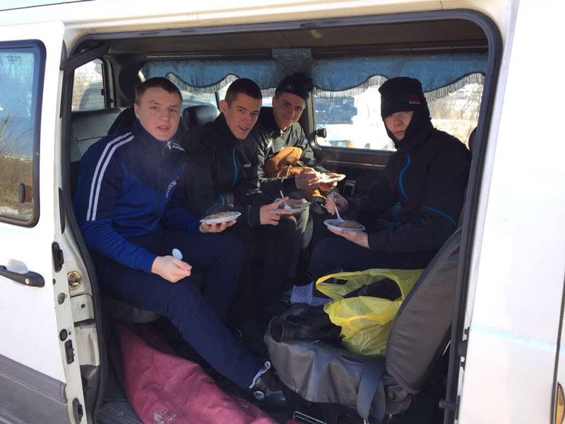 Участники Лыжня России от БПК