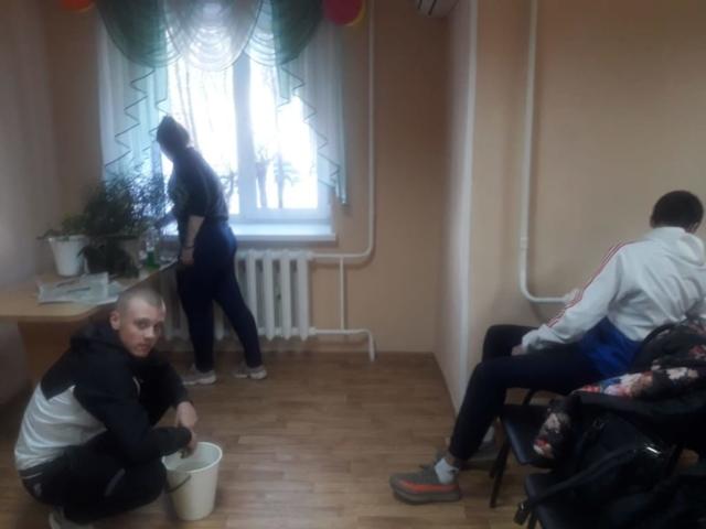 Студенты БПК в доме Ветеран