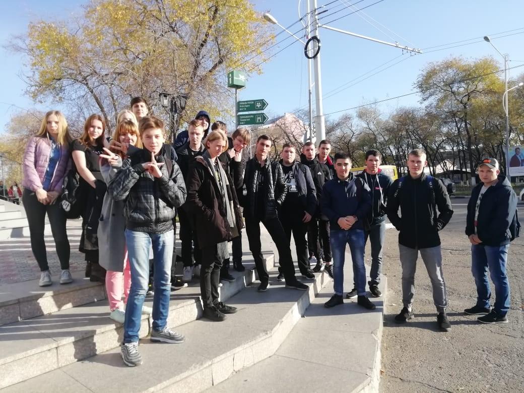 студенты БПК в музее