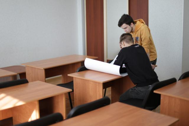 Учебная комната общежития №1