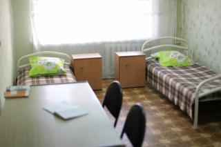 Общежитие №2, пример комнаты
