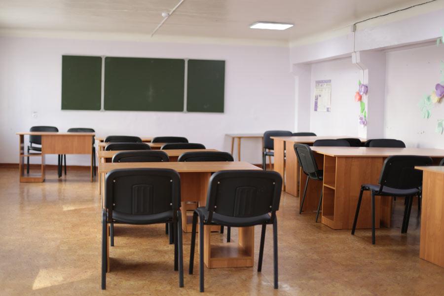 Учебная комната общежития №2