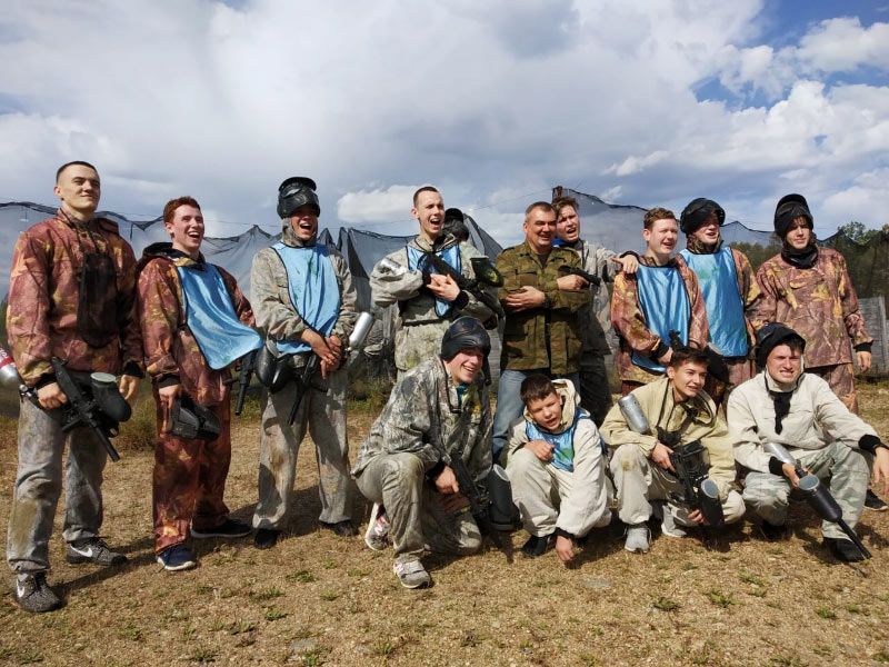 Пейнтбол 361 группа