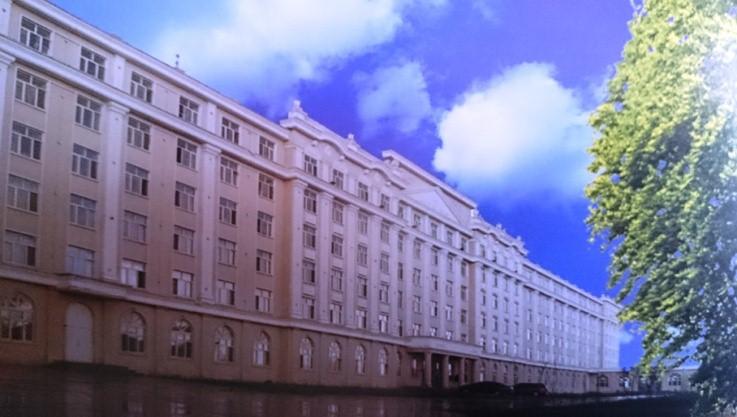 Учебный корпус и общежитие хейхейского университета