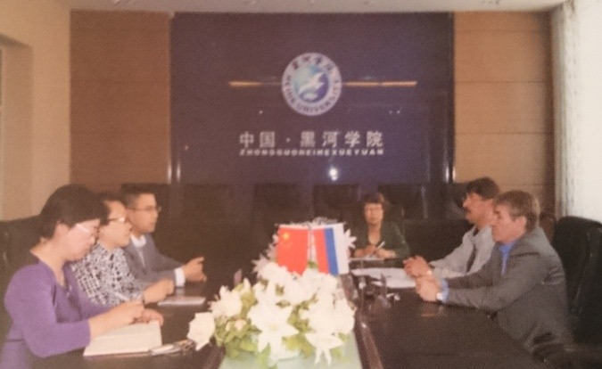 Подписание контракта о сотрудничестве между двумя учебными заведениями