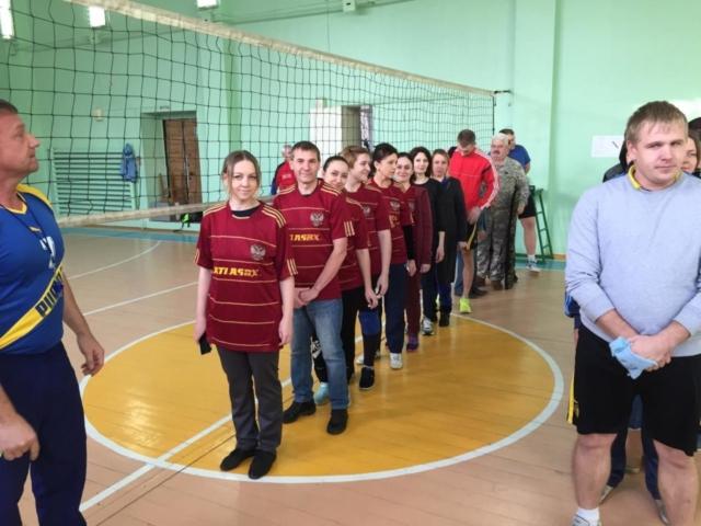 Спартакиада СПО среди преподавателей