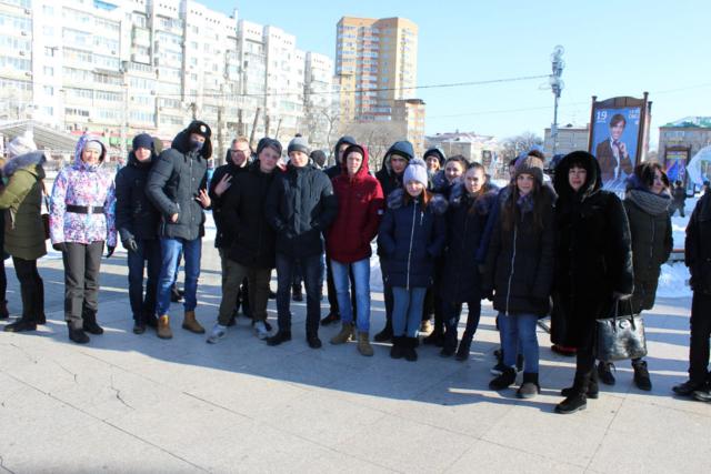 Студенты БПК на митинге-концерте