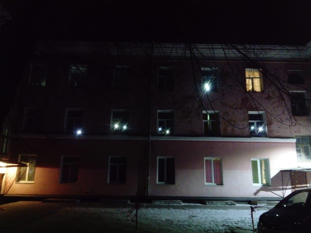Общежитие №2 Свеча памяти