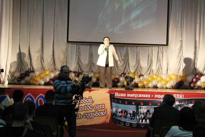 Юшкова Л.В. на встрече выпускников