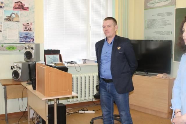 Встреча студентов-горняков с ведущим специалистом Соловьёвского приска