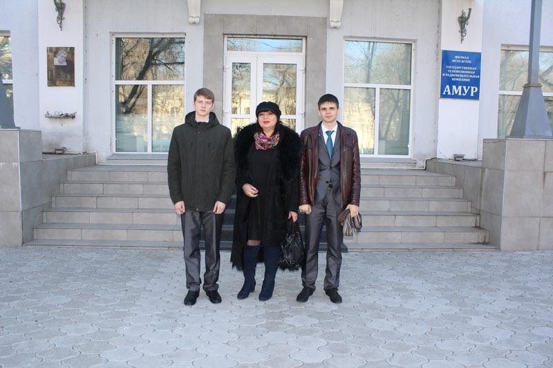 Студенты БПК и Демьяненко С.В.